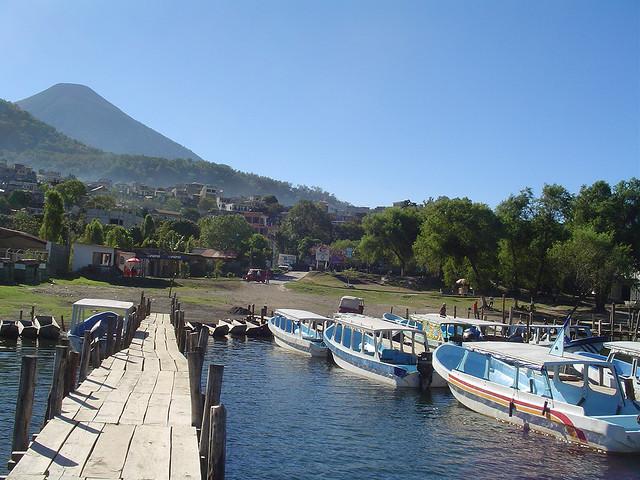 Muelle, Santiago Atitlan