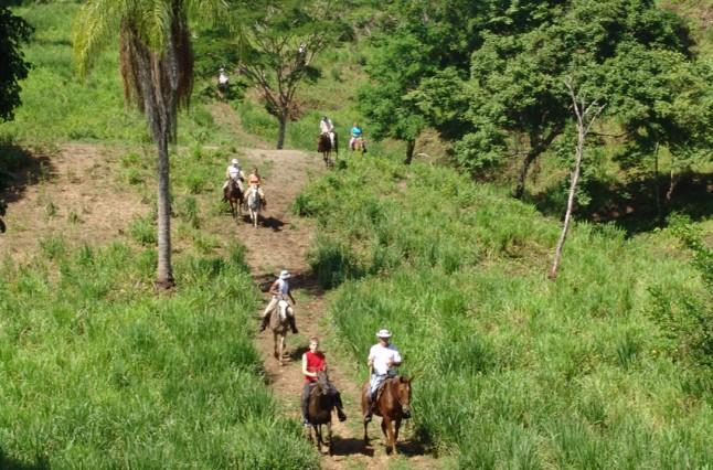 pony-trekking